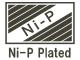 Ni-P Plated